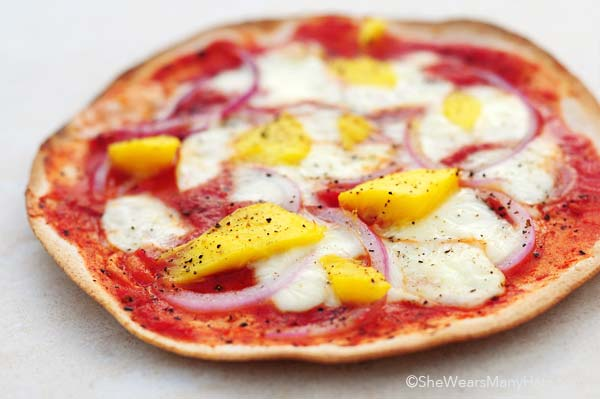 mango pizza recipe