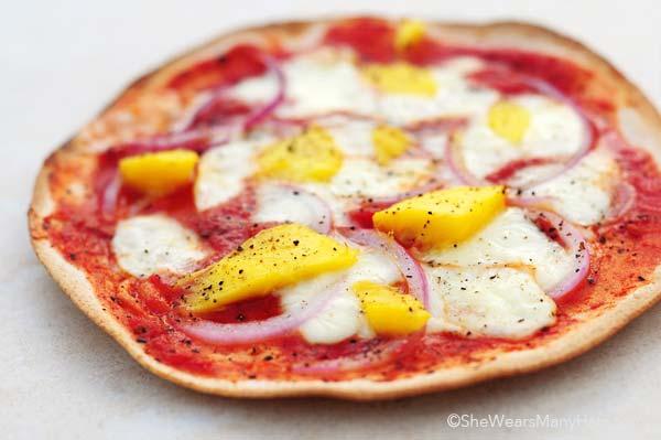 mango pizza recipe