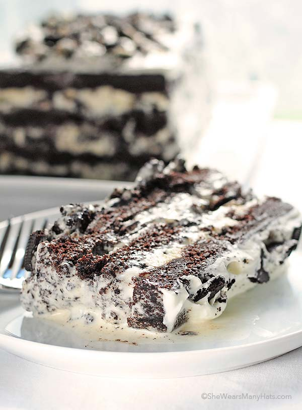 Cookies N Cream Ice Cream Cake Calories