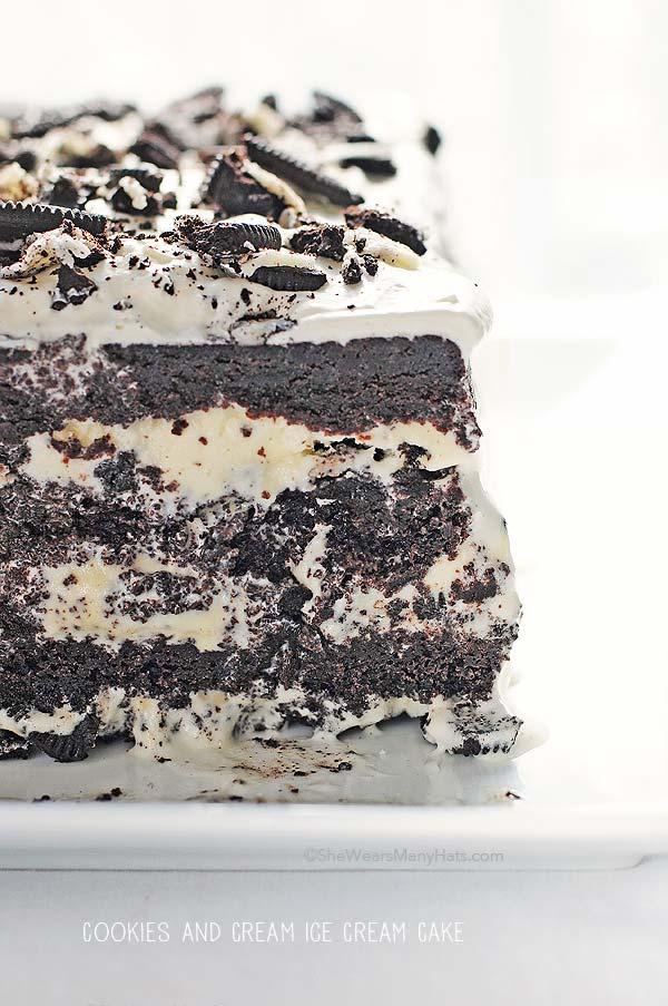 easy oreo ice cream cake recipe