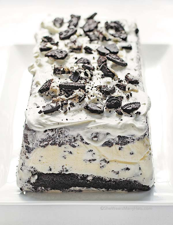 Oreo Ice Cream Cake Bites
