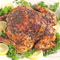 easy roasted chicken recipe