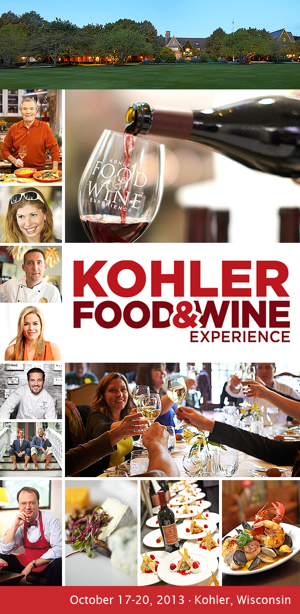 Kohler Food and Wine Experience 2013