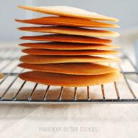 Marjoram Butter Cookies