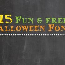 15 Fun and Free Halloween Fonts