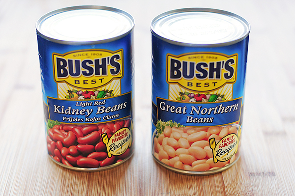 Bush's Beans for Buffalo Chicken Chili