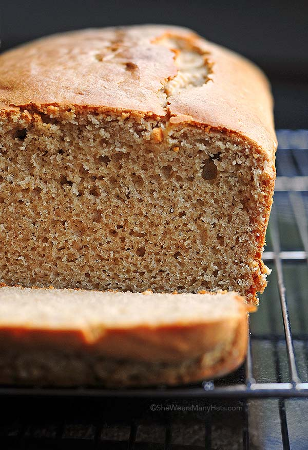 super easy Peanut Butter Bread recipe, perfect for breakfast or as ...