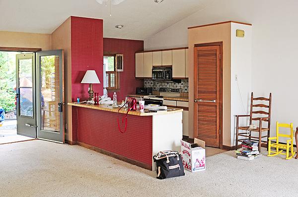 Galley Kitchen Remodel Remove Wall retreat remodel no. 3 - 1st kitchen update