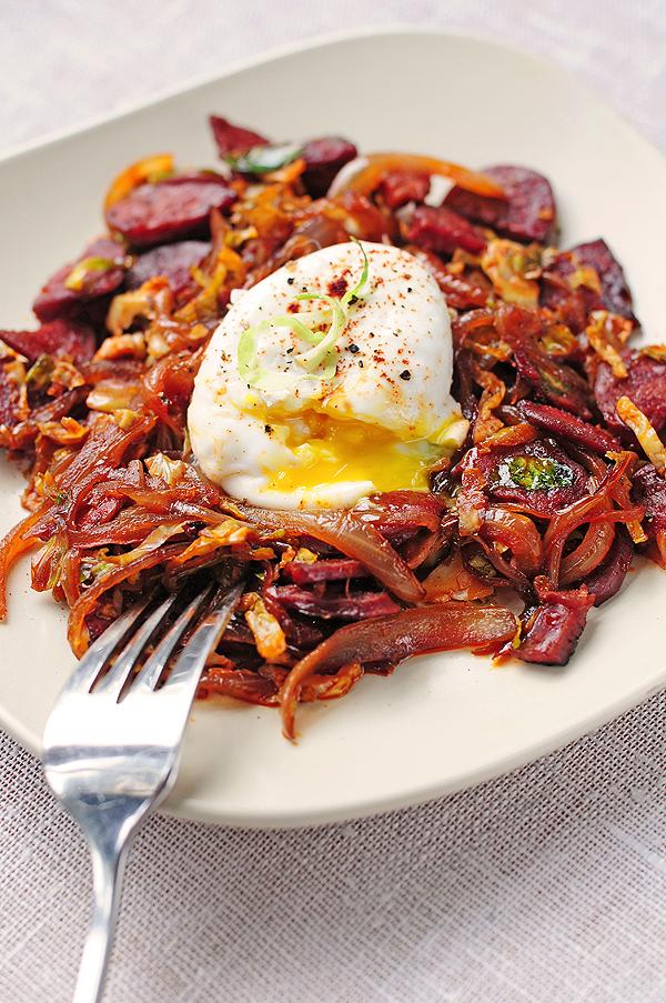 Spanish Eggs and Ham