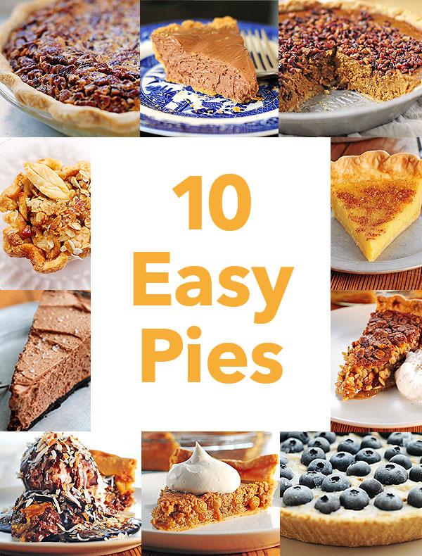 10 Easy Pies