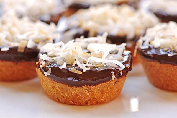 Chocolate Coconutty Cookie Bites