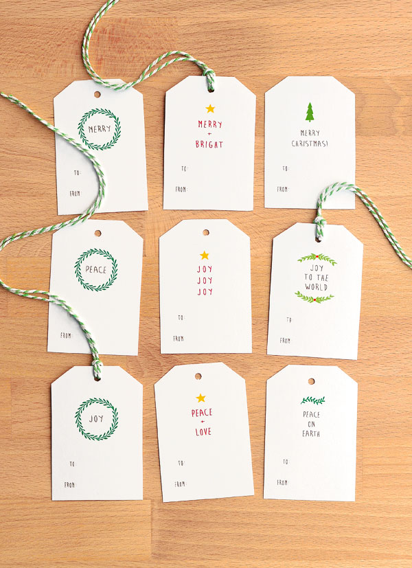 Nice and simple free christmas gift tags she wears many hats nice and simple free christmas gift tags negle Gallery