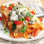 Buffalo Chicken Enchiladas Recipe