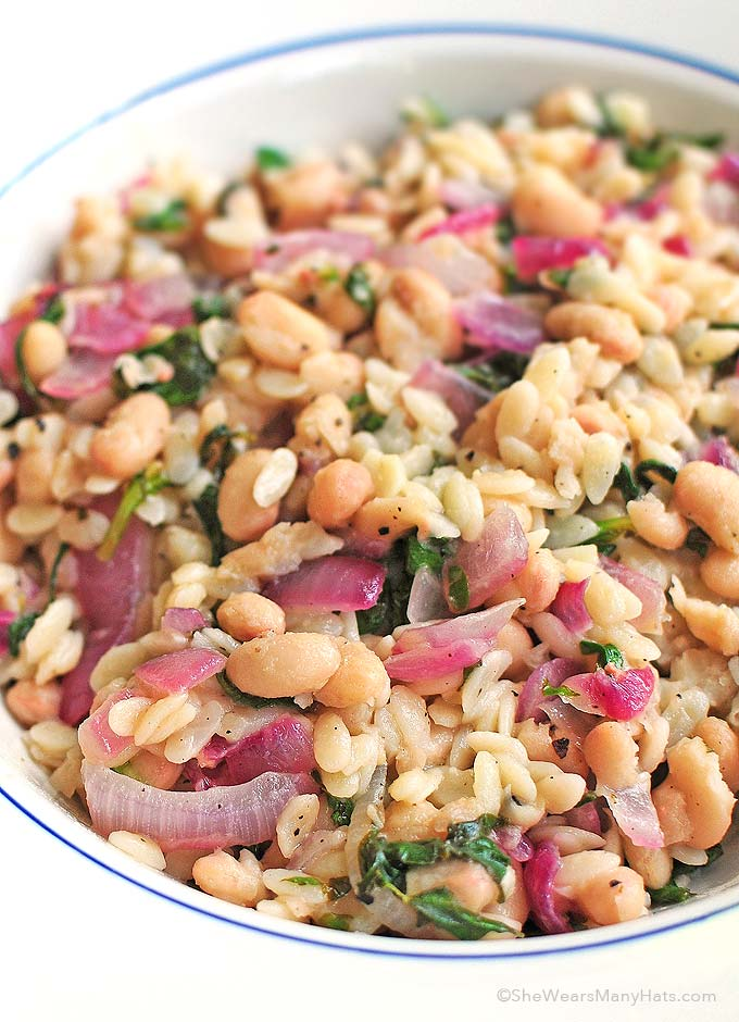 orzo recipes perfect for meatless Mondays from @wearsmanyhats
