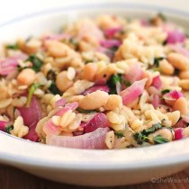 Skillet Lemon Orzo Recipe