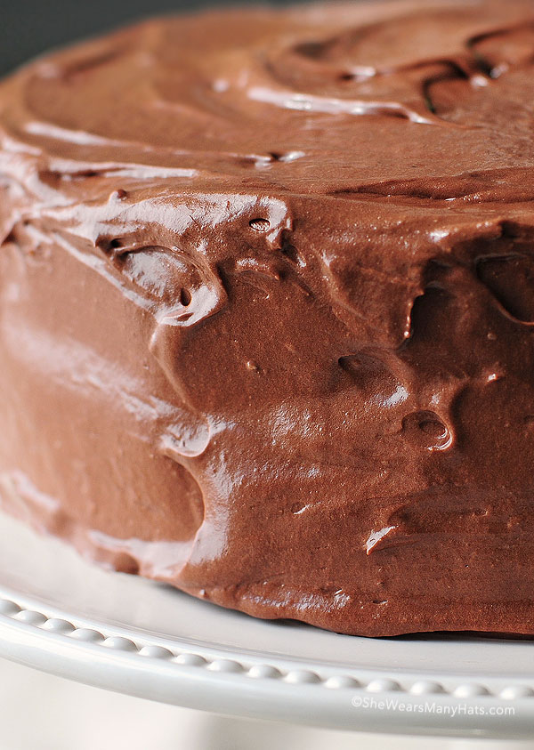 Malted Chocolate Butter Cream Frosting