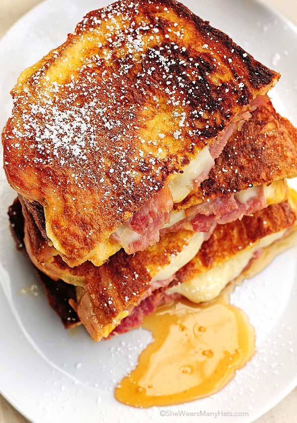 easy monte cristo with syrup