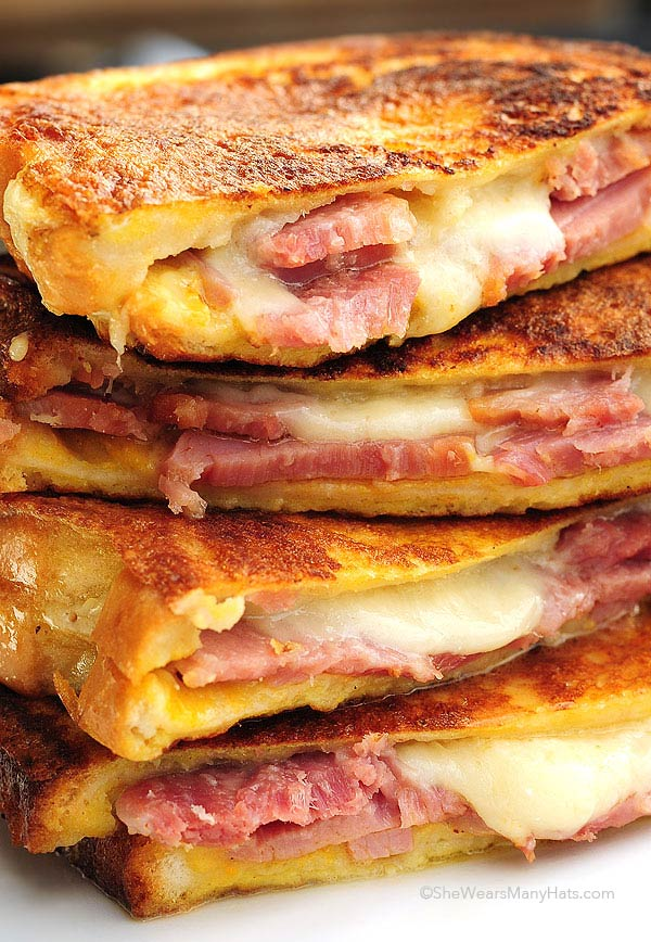Monte Cristo Sandwich Recipe She Wears Many Hats