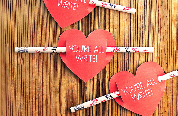 Kids Valentines Day Card Free Printable – Write a Valentines Card