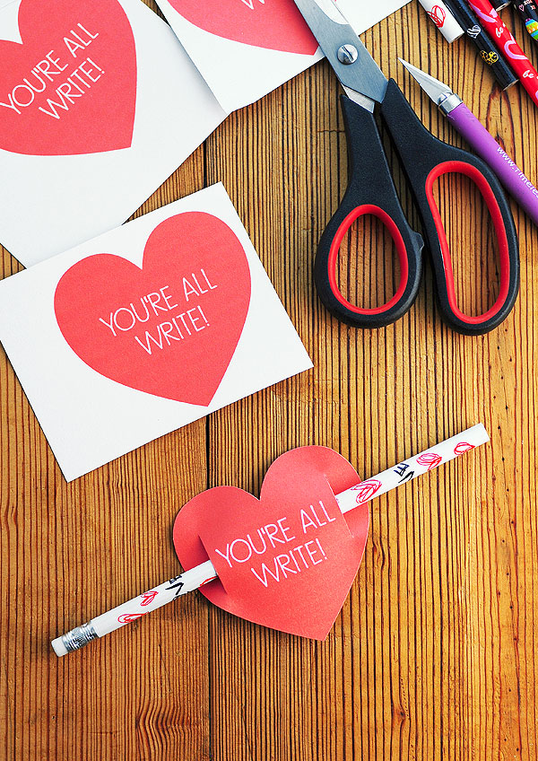 Kids Valentines Day Card Free Printable