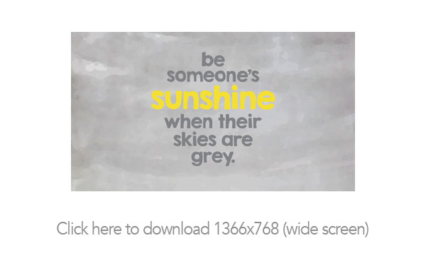 Be Sunshine Free Printable and Desktop Backgrounds