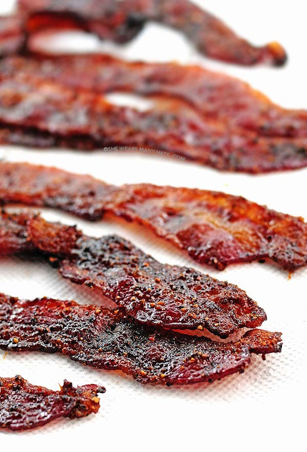 Grilled Candied Bacon Recipe | She Wears Many Hats