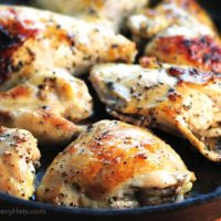 Coconut Milk Baked Chicken