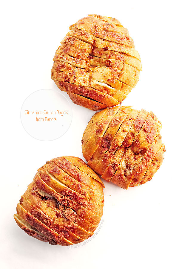 Panera Cinnamon Crunch Bagels