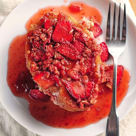 Stuffed Strawberry French Toast Recipe