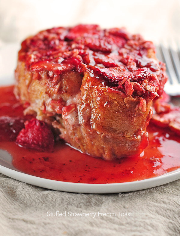 Stuffed Strawberry French Toast Recipe