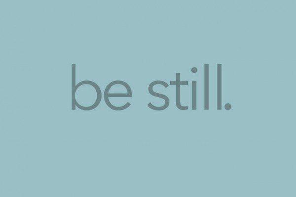 Be Still Free Printable Background