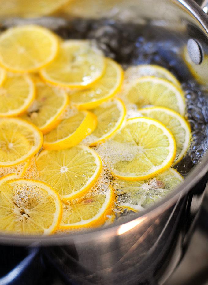 24 Hours Of Lemons >> Candied Meyer Lemon Recipe | She Wears Many Hats