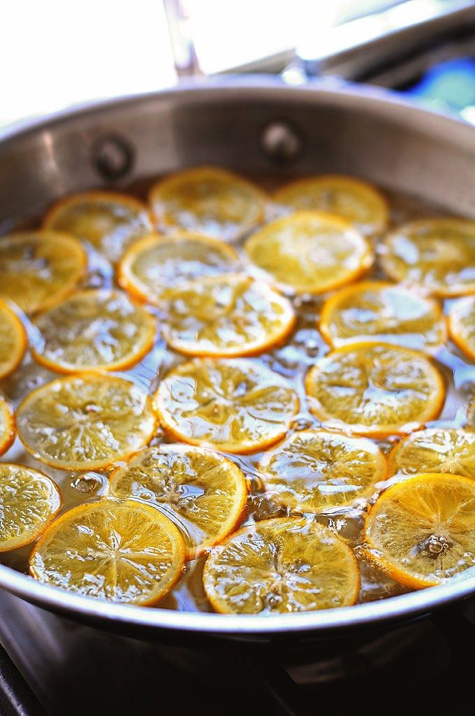 Candied Meyer Lemon Recipe