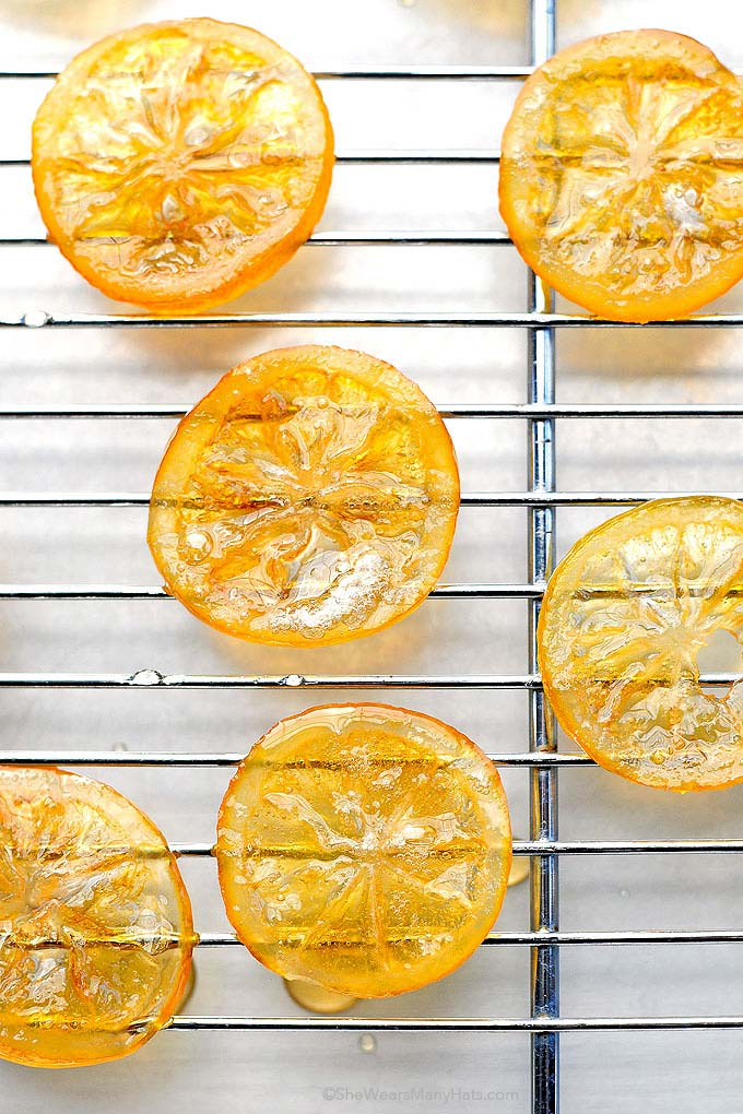 How To Make Lemon Garnish For Cake
