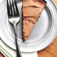 Bailey's Salted Caramel Chocolate Pie Recipe