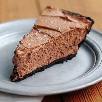 Chocolate Salted Caramel Pie