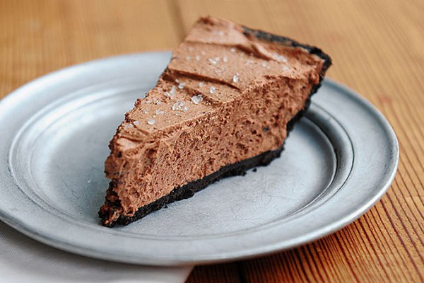 Chocolate Salted Caramel Pie
