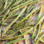 Coconut Milk Roasted Green Beans Recipe