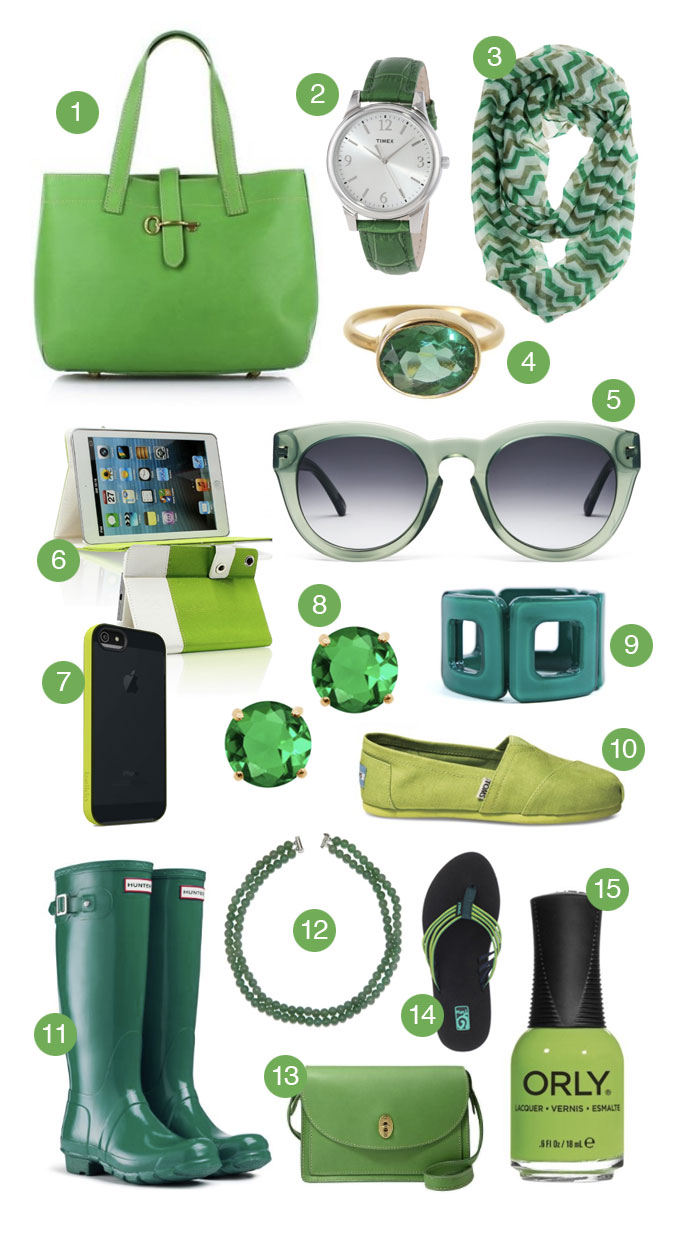 15 Green Accessories