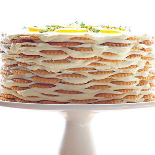 Meyer Lemon Thyme Icebox Cake Recipe