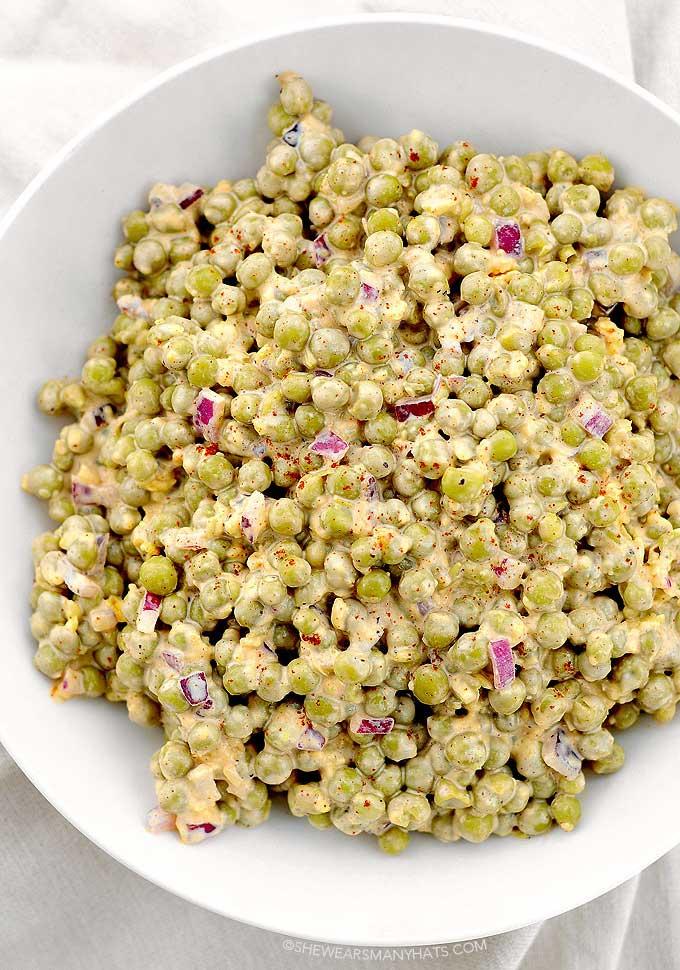 easy pea salad recipe
