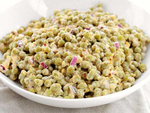 Pea Salad Recipe Easy