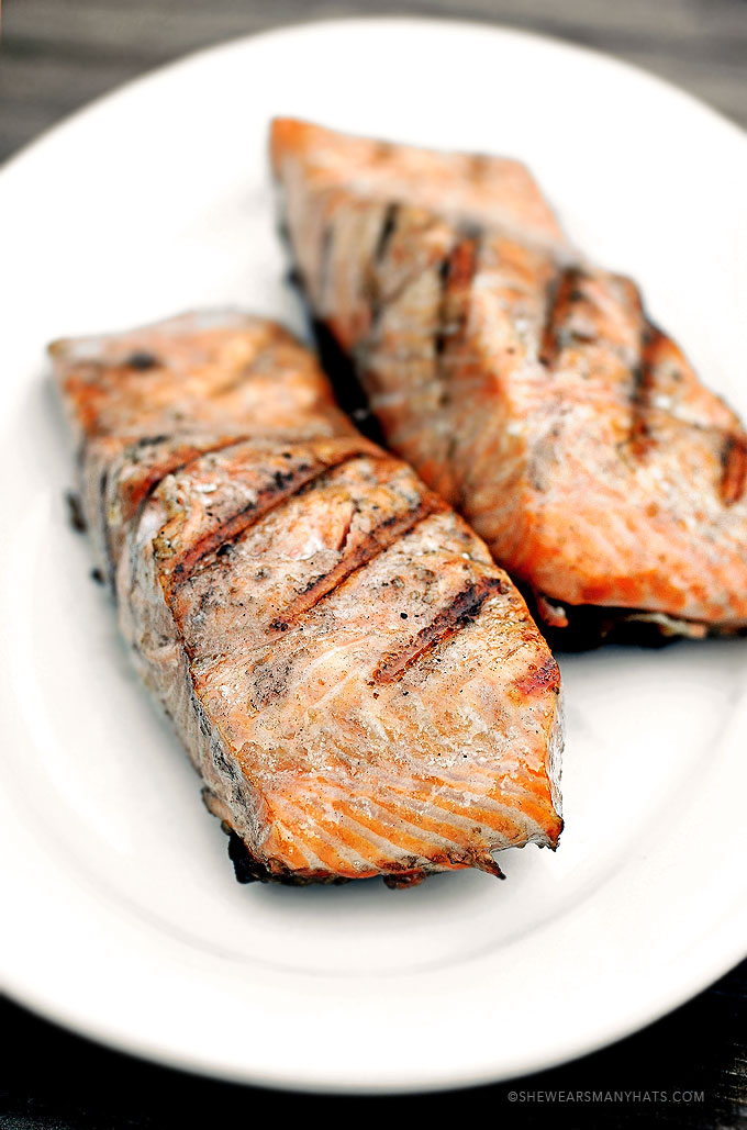 grilled salmon honey ginger grilled salmon quick easy grilled salmon ...