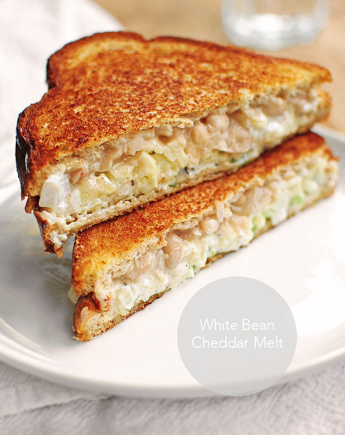 White Bean Cheddar Melt