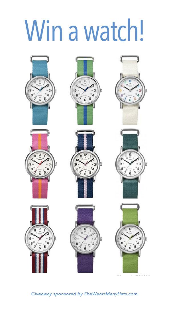 Timex Weekender Watch Giveaway