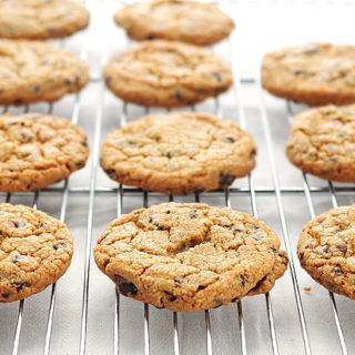 Perfect Chocolate Chip Cookies Recipe | shewearsmanyhats.com