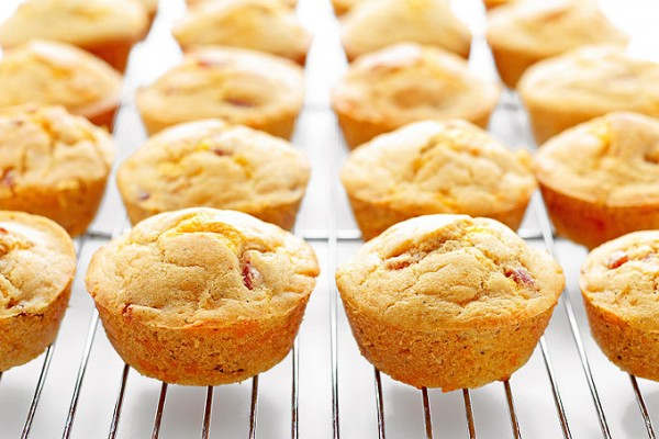 Ham Cheese Breakfast Muffins Recipe