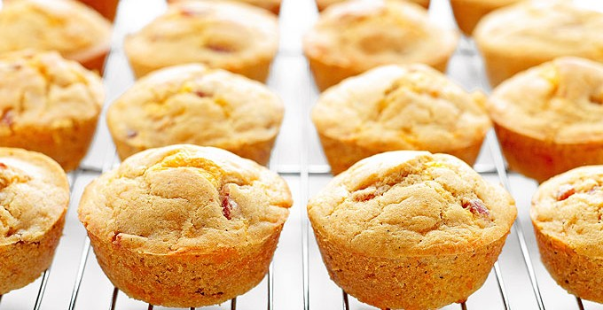 Ham and Cheese Breakfast Muffins Recipe