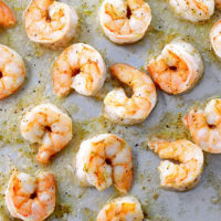 Easy Ginger Lime Roasted Shrimp Recipe