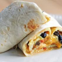 Breakfast Burrito Omelet Recipe